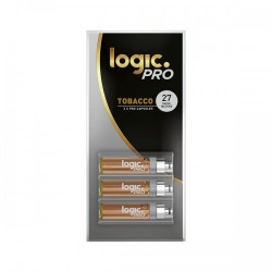 CHEAPEST 2017 LOGIC PRO 3X CAPSULES Tobacco 27 LOGIC ECIG Atomizer 30packX3.6USD Free Shipping